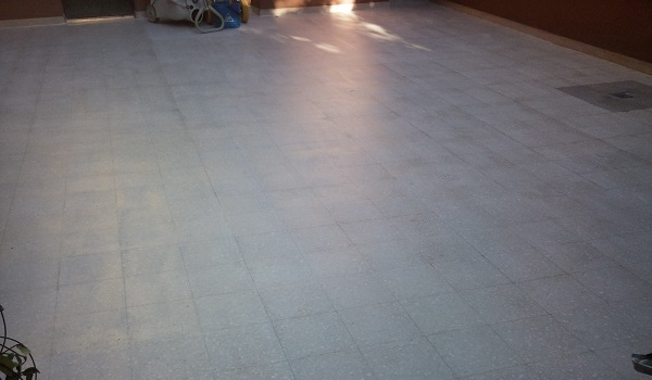 ripristini di pavimenti in terrazzo