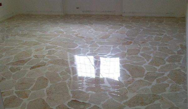 levigatura cristallizzazione pavimenti marmo alla palladiana