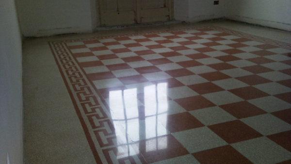 Pavimenti cementine esagonali pavimenti anni bruni caldi e