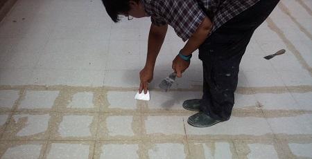 stuccatura consolidamento pavimenti terrazzo