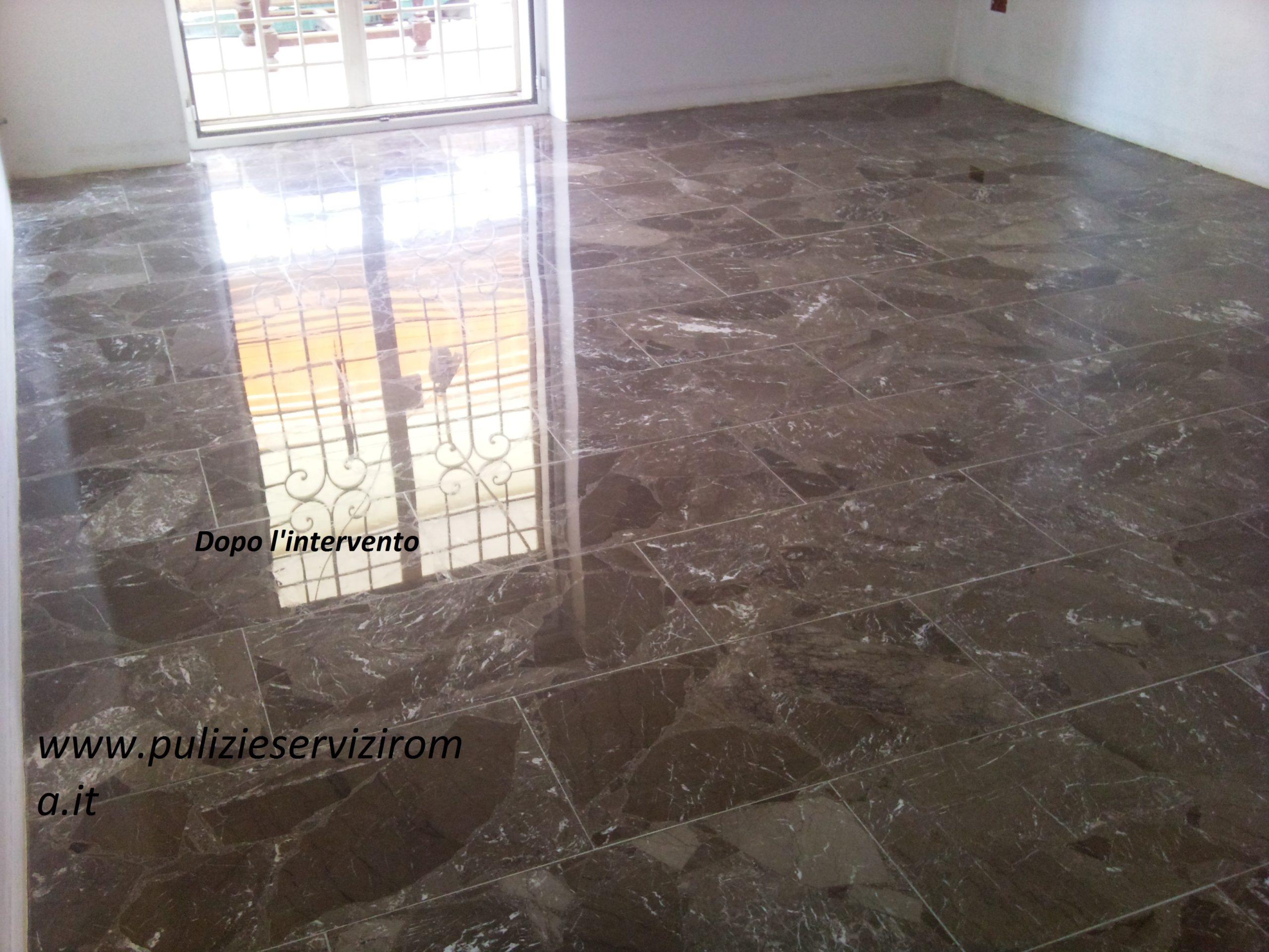 lucidature e brillantatura pavimenti marmo - La Familiare - pulizieserviziroma.it