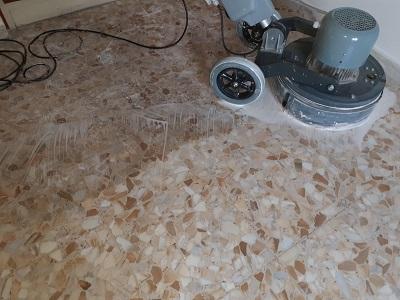 arrotatura levigatura pavimenti marmo roma