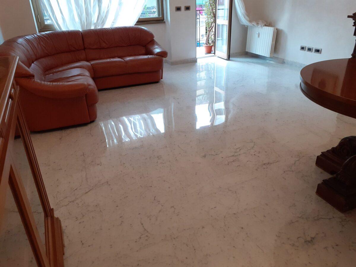levigatura cristallizzazione pavimenti marmo roma