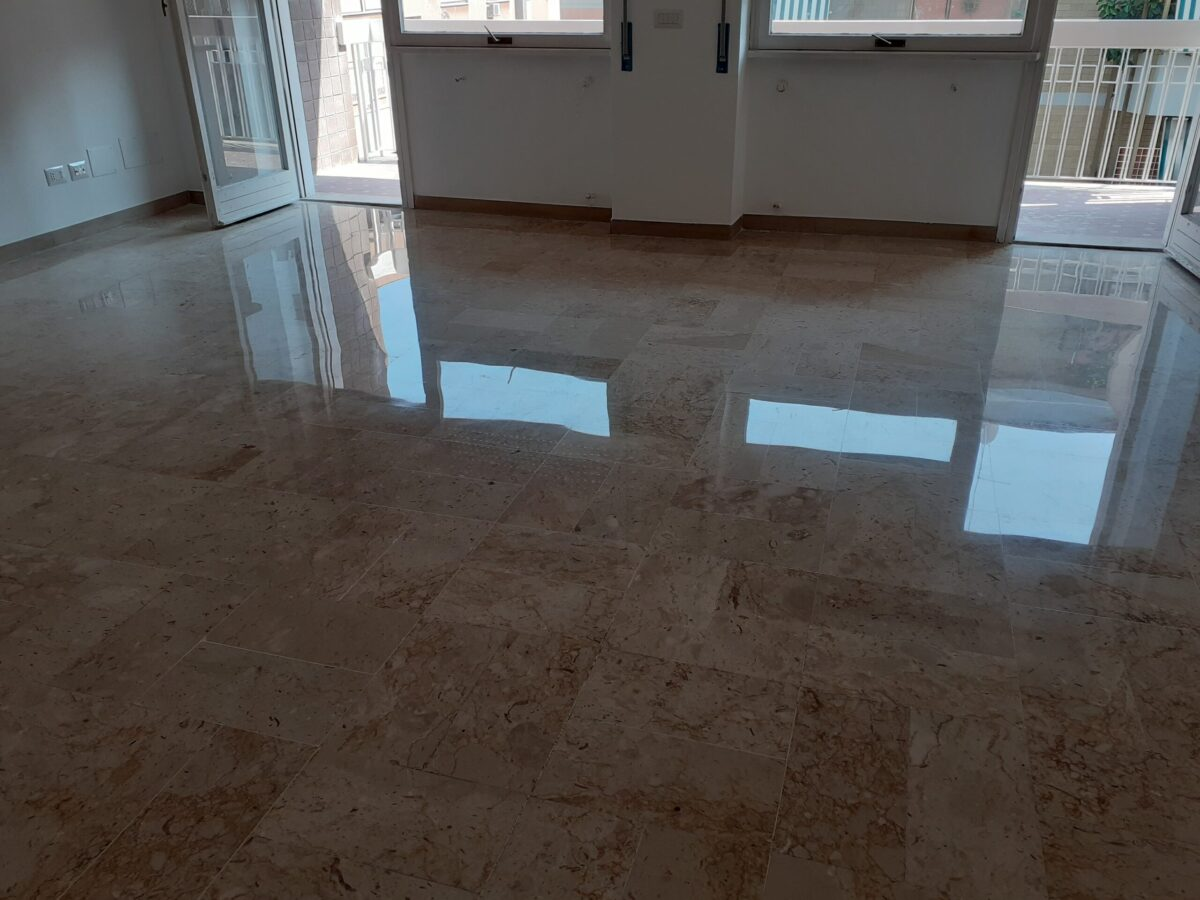 lucidatura levigatura pavimenti marmo roma