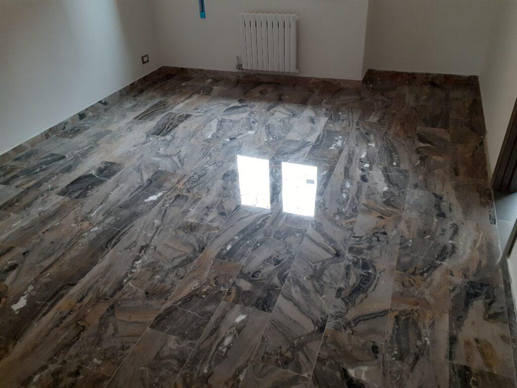 cristallizzazione pavimenti marmo roma
